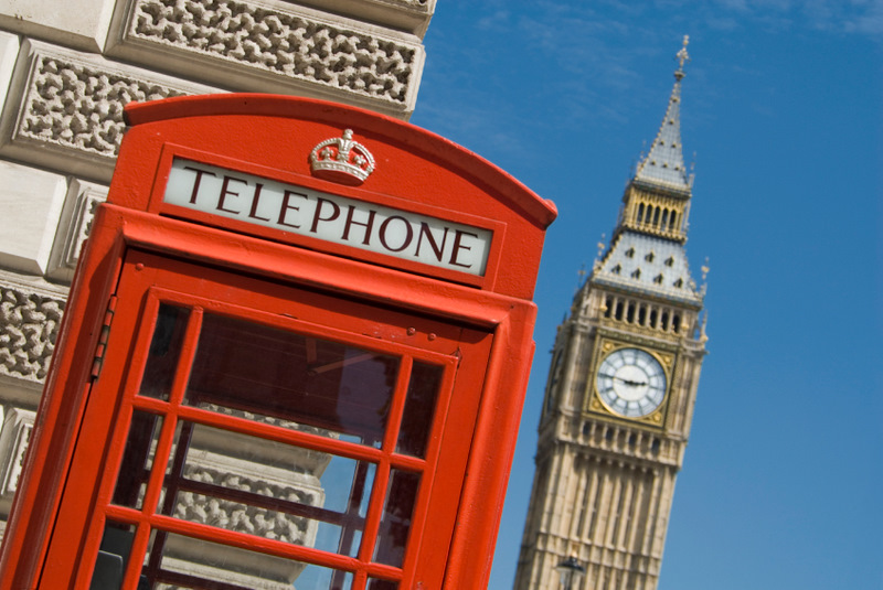 Big Ben et telephone